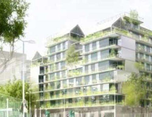 68 Logements sociaux, une crèche, des locaux associatifs et Parkings – 134, Bld Davout à Paris 20ème