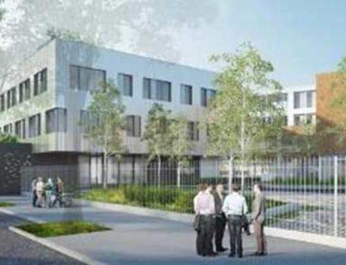 Construction d'un bâtiment de recherche pour l'université Paris 8 à Saint Denis