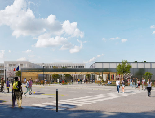 Rénovation globale et extension du lycée Evariste Galois à SARTROUVILLE